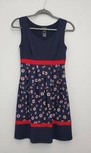 Enfocus Studio Navy Blue Dress